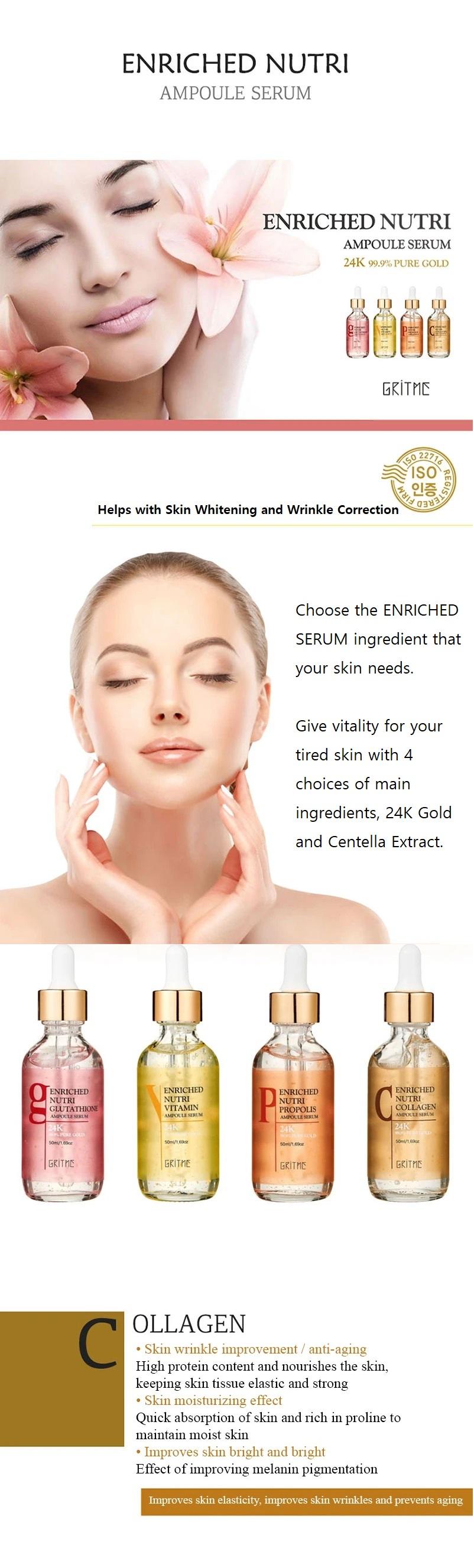 Enriched Nutri Collagen Ampoule Serum 50ml