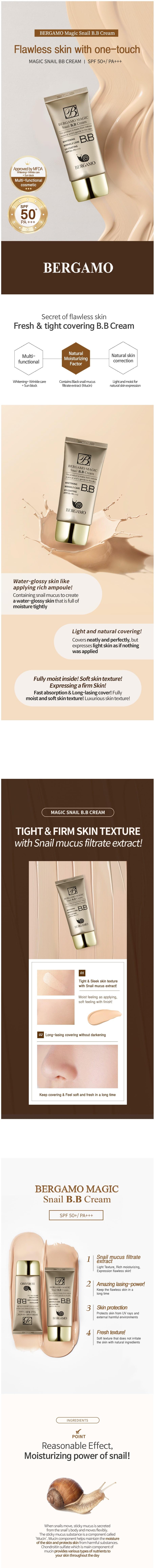 Magic Snail BB Cream 50ml