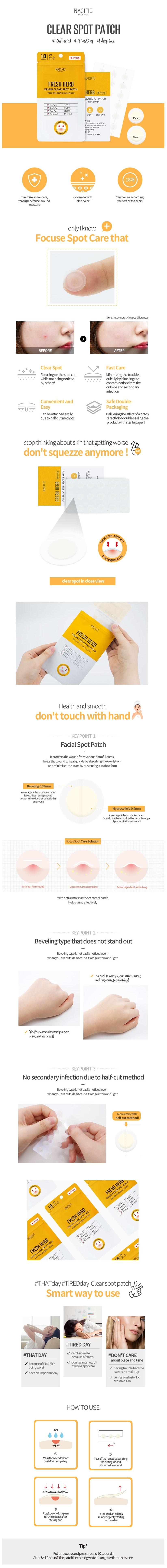 Fresh Herb Origin Clear Spot Patch